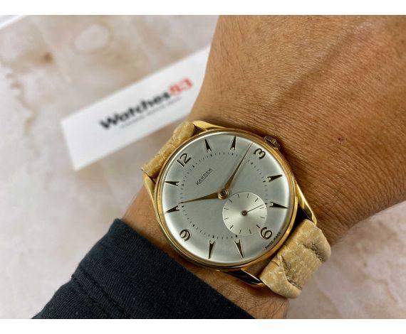 NOS KARDEX Reloj suizo antiguo de cuerda Cal. FHF 26 ESPECTACULAR *** NUEVO DE ANTIGUO STOCK ***