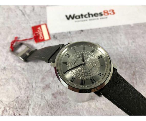 NOS Omega De Ville Ref 111.0107 reloj suizo antiguo de cuerda Cal 620 + ESTUCHE *** NUEVO DE ANTIGUO STOCK ***