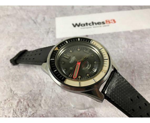 HERODIA SQUALE MASTER Reloj suizo antiguo automático DIVER tropical dial corona roscada Felsa 4007N oversize *** 100 ATMOS ***