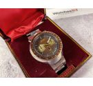 SEIKO SPEEDTIMER chronograph automatic watch Cal 6138 JAPAN J 6138-0040. + Box Oversize Spectacular! *** BULLHEAD ***