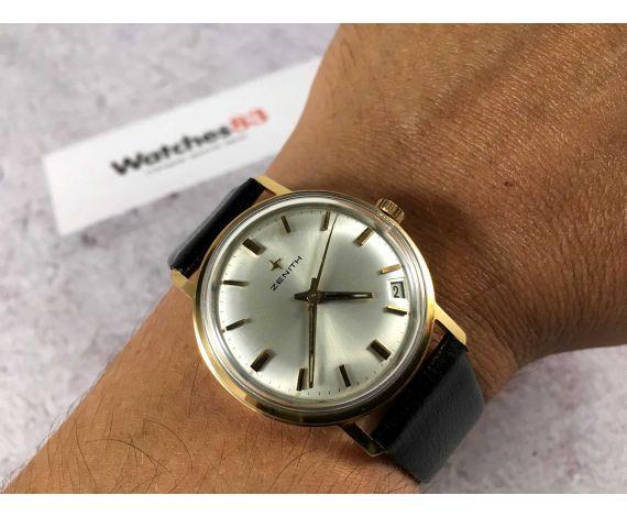 ZENITH Reloj vintage suizo de cuerda Cal. 2552 C PRECIOSO *** MINT ***
