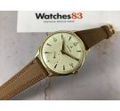FESTINA vintage swiss hand wind watch Cal. ETA 853 Plaqué or MINT oversize *** AWESOME DIAL ***