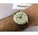 FESTINA Reloj suizo antiguo de cuerda Cal. ETA 853 Plaqué or MINT Gran diámetro *** IMPRESIONANTE DIAL ***