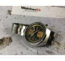 SEIKO JOHN PLAYER Ref. 6138-8030 Reloj cronógrafo antiguo automático Cal 6138-B JAPAN *** TODO ORIGINAL ***