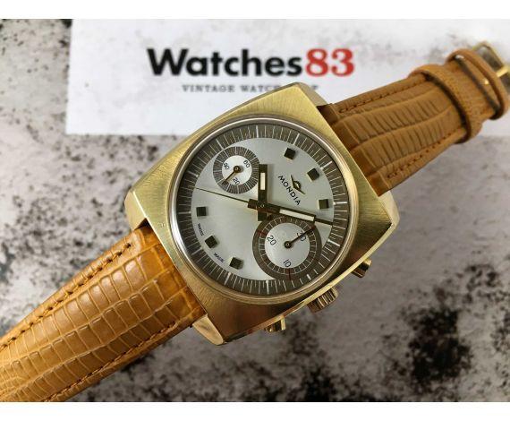 MONDIA BIG EYE (ZENITH) Vintage swiss watch chronograph hand winding SPECTACULAR *** MINT ***