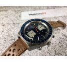 Seiko Kakume Chrono Automatic vintage chronograph watch Cal. 6138 Ref 6138-0030 *** SPECTACULAR BLUE DIAL ***