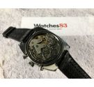 RADIANT Vintage swiss manual winding Chronograph DIVER watch Valjoux 7733 Bidirectional bezel SPECTACULAR *** 20 ATM ***