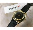 UNIVERSAL GENEVE POLEROUTER DATE Reloj suizo antiguo automático Cal. 218-2 Microtor ESPECTACULAR *** TROPICAL DIAL ***