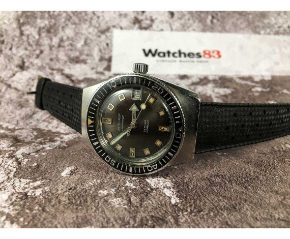 VATELRUP Reloj suizo antiguo automático Cal. PUW 1461. 20 ATM 25 jewels ARROW HAND *** DIVER ***
