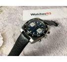 RADIANT reloj cronógrafo suizo antiguo de cuerda DIVER Valjoux 7733 Bisel bidireccional ESPECTACULAR *** 20 ATM ***