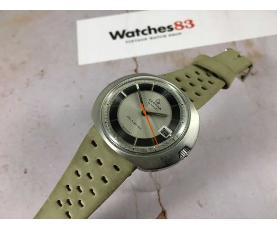 NOS CERTINA REVELATION Ref. 5301 Vintage swiss automatic watch Cal. 25-651M 185 M *** NEW OLD STOCK ***