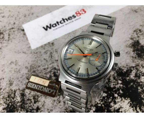 Longines Conquest Olympic Games Munich 1972 Vintage chronograph swiss hand winding watch Cal 335 Ref. 8613-1 *** COLLECTORS ***