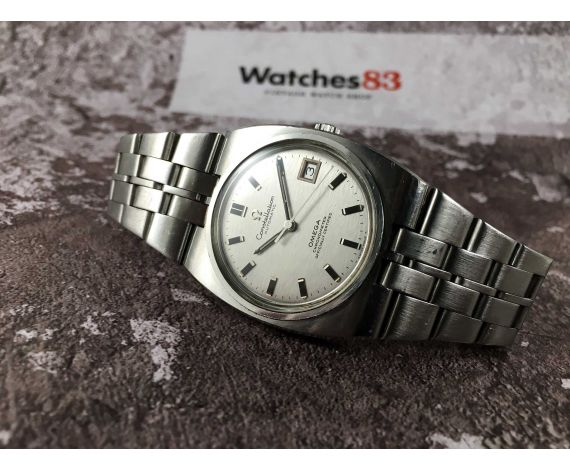 OMEGA CONSTELLATION Vintage swiss automatic watch Cal 1001 Ref 168.046-368.846 CHRONOMETER OFFICIAL CERTIFIED *** OVERSIZE ***