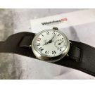 Omega WW1 1916 Vintage swiss hand winding trench watch porcelain dial OVERSIZE Silver *** COLLECTORS ***