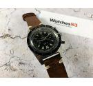 TRESSA Reloj vintage suizo cronógrafo de cuerda 20 ATM 200 M Landeron 248 DIVER *** 20 ATM 200 M ***