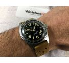 ACTION Vintage swiss automatic watch 20 ATM 25 jewels SPECTACULAR HANDS *** SKIN DIVER ***