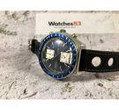 SEIKO KAKUME Chrono Automatic vintage chronograph watch Cal. 6138-B Ref. 6138-0030 OVERSIZE *** SPECTACULAR BLUE DIAL ***
