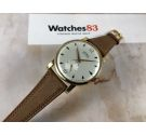 NOS TECHNOS vintage swiss hand winding watch Cal. AS 1486 OVERSIZE Plaqué or *** NEW OLD STOCK***