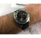 WALTHAM Ref. B339 Swiss vintage automatic watch Cal. FHF 905 ALL STAINLESS STEEL *** DIVER ***