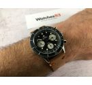 ZODIAC SEA-CHRON Vintage swiss chronograph hand winding watch Valjoux 72 20 ATM SPECTACULAR *** COLLECTORS ***