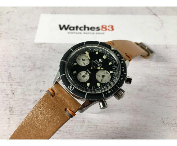 ZODIAC SEA-CHRON Reloj suizo cronógrafo de cuerda vintage Valjoux 72 20 ATM ESPECTACULAR *** COLECCIONISTAS ***