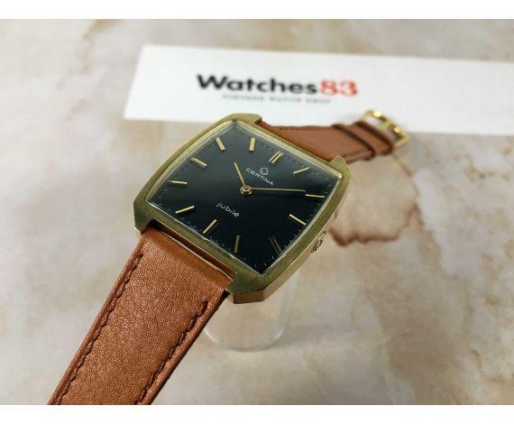 NOS CERTINA JUBILÉ hand winding vintage watch Cal. 23-30 17 jewels BEAUTIFUL *** NEW OLD STOCK ***
