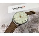 NOS PRESIDENT Vintage swiss hand winding watch OVERSIZE *** NEW OLD STOCK ***