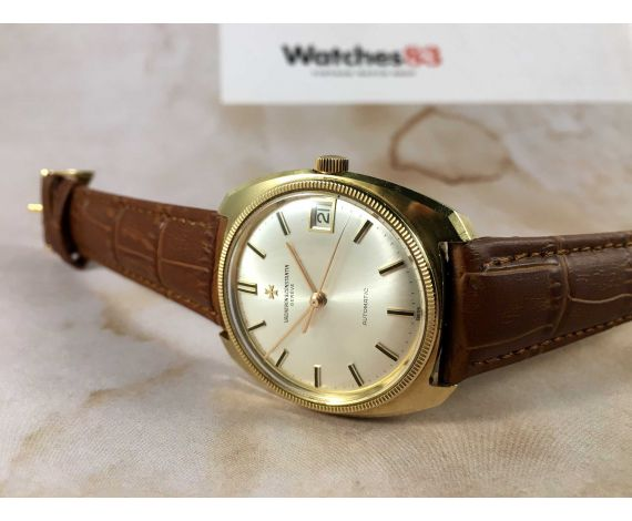 Vacheron Constantin Gold watch 18k 0,750 automatic vintage Ref 7942 Cal K1072/1 *** WONDERFUL ***