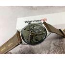 NOS PRESIDENT Reloj vintage suizo de cuerda GRAN DIÁMETRO *** NUEVO DE ANTIGUO STOCK ***