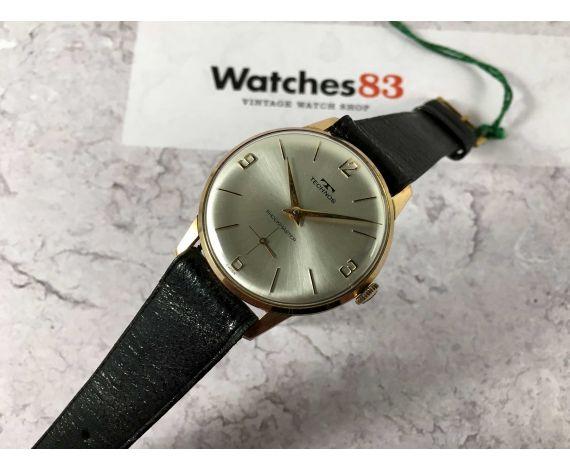 NOS TECHNOS Reloj suizo antiguo de cuerda Cal. FHF 76 PRECIOSO *** NUEVO DE ANTIGUO STOCK ***