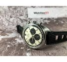 MOVADO DATRON HS 360 Ref. 434-705-502 Vintage swiss chrono automatic watch Cal 3019 PHC 31 JEWELS SUB SEA *** DIAL PANDA ***