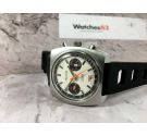 TELSTAR Vintage chronograph swiss hand winding watch Valjoux 7734 COMPENSAMATIC Dial Argonaut Style *** PANDA DIAL ***