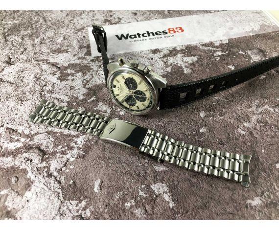 MOVADO DATRON HS 360 Ref. 434-705-502 Reloj suizo crono automático vintage Cal 3019 PHC 31 JEWELS SUB SEA *** DIAL PANDA ***