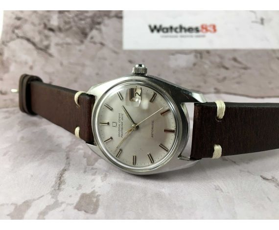 UNIVERSAL GENEVE POLEROUTER DATE Vintage swiss automatic watch Cal. 1-69 Microtor 28 Jewels *** SPECTACULAR ***