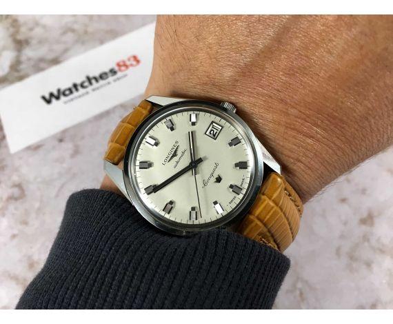 NOS LONGINES CONQUEST Ref 8066 Reloj antiguo suizo automático Cal 501 ESPECTACULAR COLECCIONISTAS *** NUEVO ANTIGUO STOCK ***