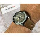 POTENS PRIMA SQUALE Reloj suizo antiguo automático corona roscada Cal. ETA 2452 BISEL DE BAQUELITA 20 ATM *** ESPECTACULAR ***