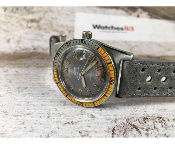 VENUS Reloj suizo antiguo automático ETA 2772 DIVER 20 ATM *** ESPECTACULAR ***
