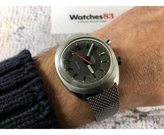 NOS OMEGA CHRONOSTOP RACING Reloj suizo antiguo cronógrafo de cuerda Cal. 865 Ref. ST 145.010 *** NUEVO DE ANTIGUO STOCK ***
