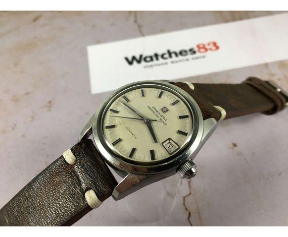 UNIVERSAL GENEVE POLEROUTER SUPER Reloj vintage suizo automático Cal Microtor 1-69 *** PRECIOSO ***