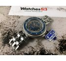 NOS SILVER EXTRA Vintage swiss automatic watch 10 ATM DIVER 25 jewels OVERSIZE *** NEW OLD STOCK ***