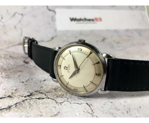 OMEGA Ref. 2445-3 Reloj suizo antiguo automático Cal. 354 BUMPER *** ESPECTACULAR ***