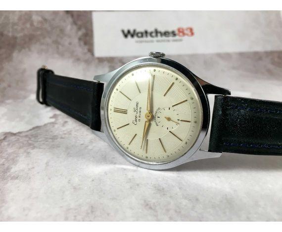 NOS ESCO LUXE Reloj vintage suizo de cuerda GRAN DIÁMETRO *** NUEVO DE ANTIGUO STOCK ***