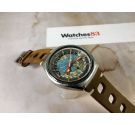 EDOX GEOSCOPE 48 Vintage swiss automatic watch Cal. ETA 2774 Diving 20 ATM SPECTACULAR *** ICONIC ***