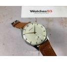 NOS PRESIDENT Ref. 14621 Vintage swiss hand winding watch OVERSIZE Cal. Unitas 600 *** NEW OLD STOCK ***