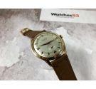 EXACTUS AMBASSADEUR vintage swiss hand winding watch Cal. F 753 OVERSIZE *** SPECTACULAR DIAL ***