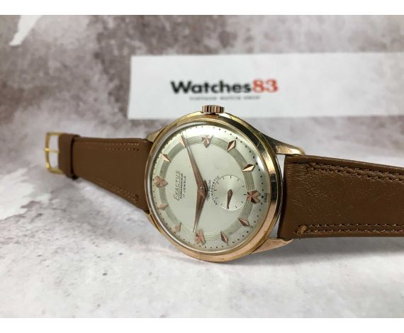EXACTUS AMBASSADEUR Reloj suizo antiguo de cuerda Cal. F 753 GRAN DIÁMETRO *** DIAL ESPECTACULAR ***
