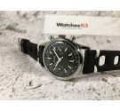 GALLET Chronograph Vintage manual wind watch Landeron 149 Black dial AVIATOR *** COLLECTORS ***