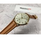NOS STUDIO Vintage hand winding swiss watch Cal Vulcain 590 Oversize Plaque OR BEAUTIFUL DIAL *** NEW OLD STOCK ***