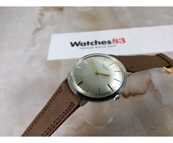 UNIVERSAL GENEVE Reloj suizo antiguo de cuerda Cal. 1106 ULTRAFINO *** ELEGANTE ***