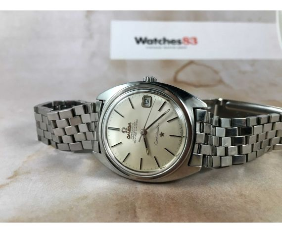 OMEGA CONSTELLATION Chronometer Officially Certified Vintage swiss automatic watch Cal 564 Ref ST 168.017 *** BEAUTIFUL ***